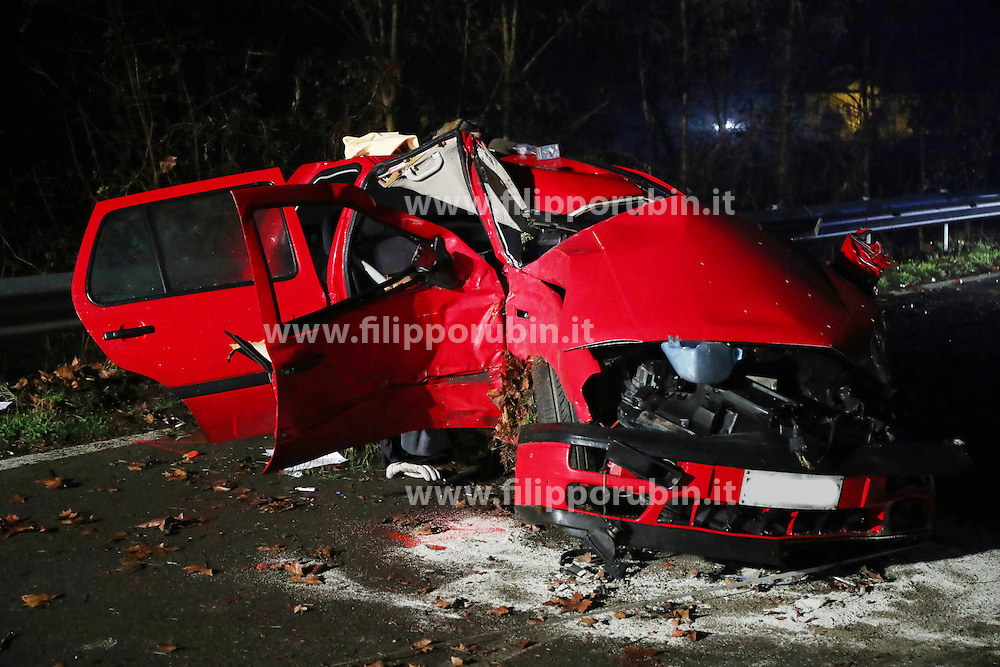 INCIDENTE MORTALE FABIO ZAMBONINI VIA COMACCHIO
