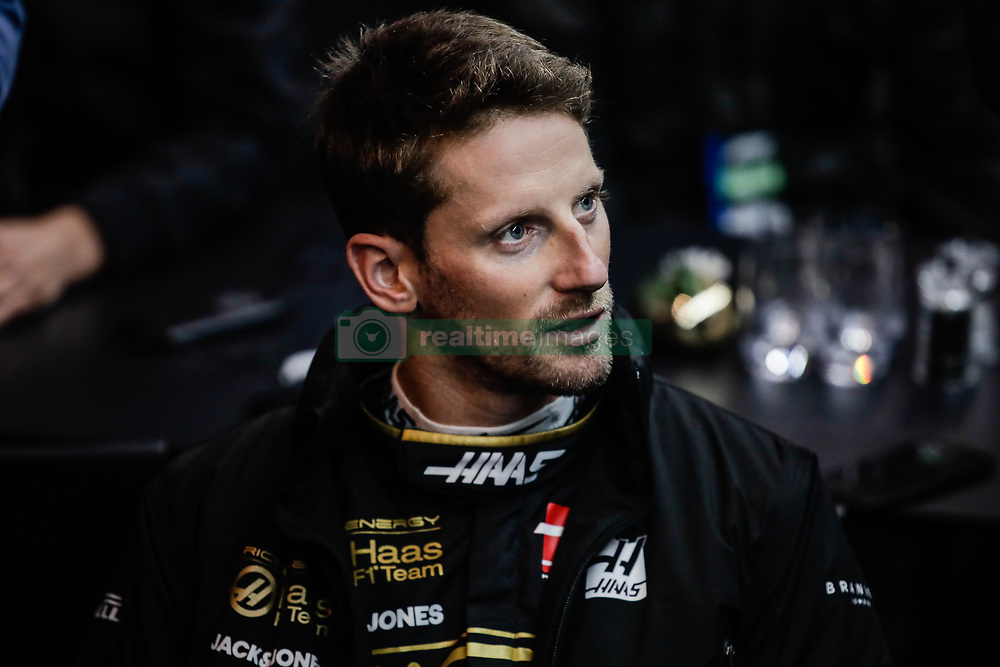 February 18, 2019 - Montmelo, BARCELONA, Spain - Romain Grosjean from France with 08 Rich Energy Haas F1 Team portrait during the Formula 1 2019 Pre-Season Tests at Circuit de Barcelona - Catalunya in Montmelo, Spain on February 18. (Credit Image: © AFP7 via ZUMA Wire)