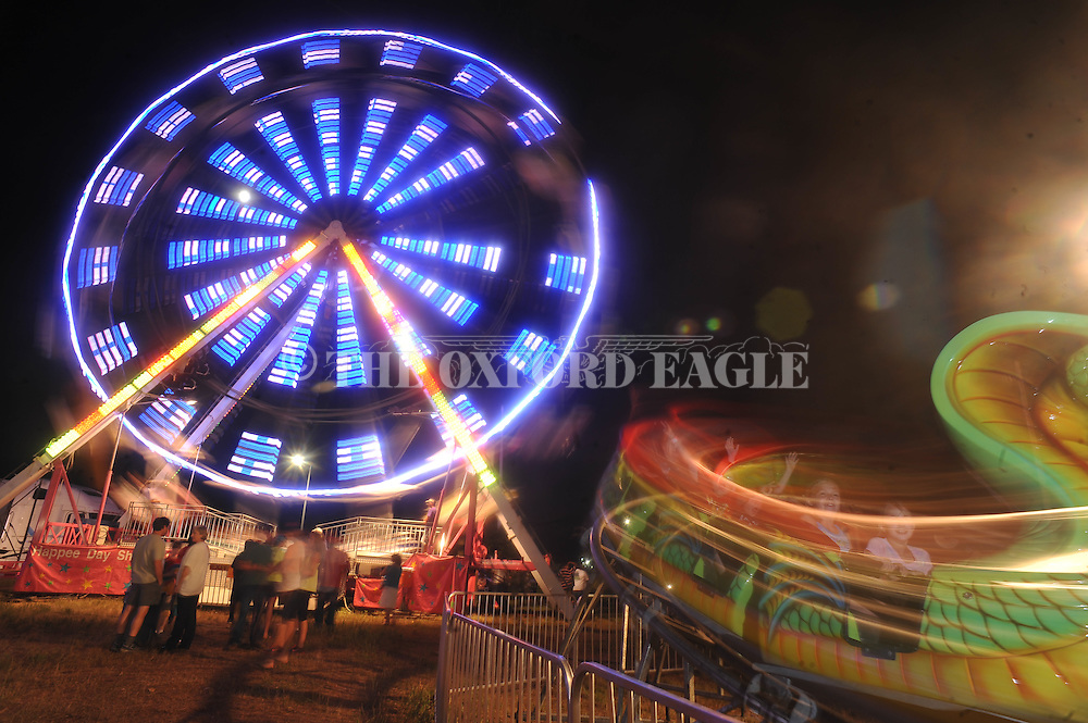 Carnival in Oxford, Miss. on Thursday, May 23, 2013.