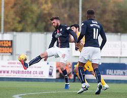 Falkirk's Lee Miller. Falkirk 1 v 1 Morton, Scottish Championship game played 5/11/2016 at The Falkirk Stadium. Pic Ross Schofield.