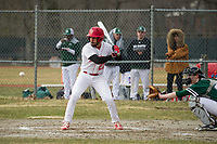 St Paul's School varsity Baseball with New Hampton.  ©2018 Karen Bobotas Photographer