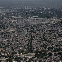 General view of Maiduguri.