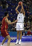 Olimpiadi Sydney 2000<br /> Italia - Cina<br /> Nella foto: Giacomo Galanda<br /> Foto Ciamillo