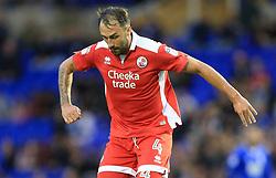 Josh Payne of Crawley Town - Mandatory by-line: Paul Roberts/JMP - 08/08/2017 - FOOTBALL - St Andrew's Stadium - Birmingham, England - Birmingham City v Crawley Town - Carabao Cup