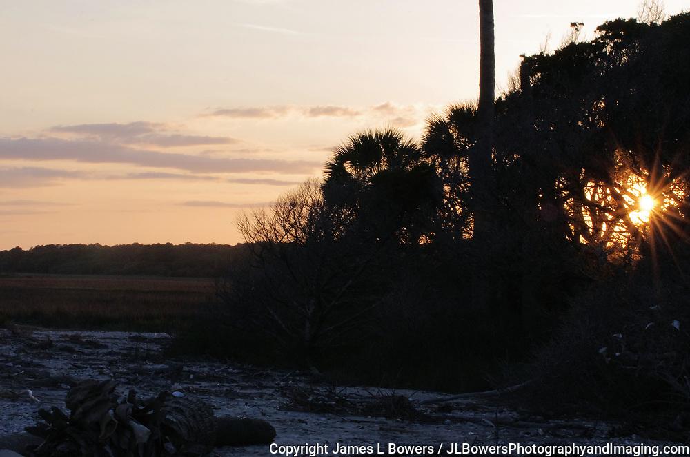 Sunset Botany Bay Beach