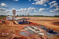 Obras da nova unidade da IESA Óleo & Gás, em Charqueadas. São prédios administrativos (vestiários, refeitórios etc), Pipe Shop (ou Fábrica de Tubulações) e Área Industrial. FOTO: Jefferson Bernardes/Preview.com