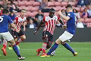 Olufela Olomola of Southampton U23's during the Under 23 Premier League 2 match between Southampton and Manchester United at St Mary's Stadium, Southampton, England on 22 August 2016. Photo by Phil Duncan.