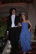 Ashley Bush and Prince Ashley Poniatowski, The 2005 Crillon Debutante Ball. Crillon Hotel, Paris. 26  November 2005. ONE TIME USE ONLY - DO NOT ARCHIVE  © Copyright Photograph by Dafydd Jones 66 Stockwell Park Rd. London SW9 0DA Tel 020 7733 0108 www.dafjones.com