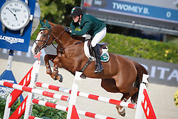 Twomey Billy (IRL) - Tinka's Serenade<br /> Furusiyya FEI Nations Cup Jumping Final Round 1<br /> CSIO Barcelona 2013<br /> © Dirk Caremans