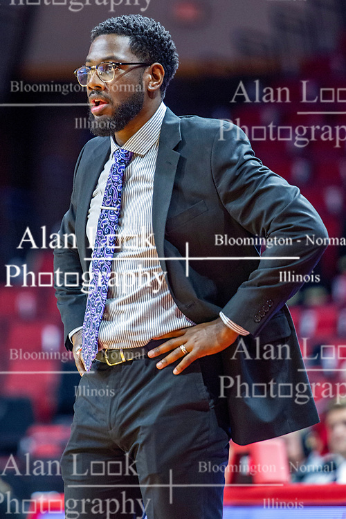 NORMAL, IL - November 05: Theo Dean during a college women's basketball game between the ISU Redbirds and the Truman State Bulldogs on November 05 2019 at Redbird Arena in Normal, IL. (Photo by Alan Look)