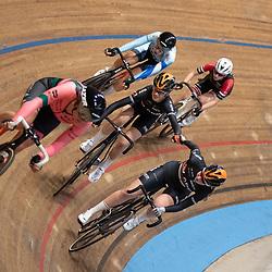 29-12-2019: Wielrennen: NK Baan: Alkmaar <br />Daniek Hengeveld. Maud Rijnbeek