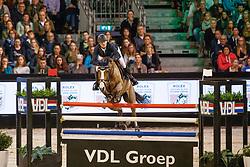 Bruynseels Niels, BEL, Gancia de Muze<br /> The Dutch Masters<br /> Indoor Brabant - 's Hertogen bosch 2018<br /> © Hippo Foto - Dirk Caremans<br /> 11/03/2018