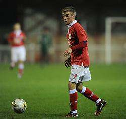 Bristol City's Joseph Morrell  - Photo mandatory by-line: Joe Meredith/JMP - Mobile: 07966 386802 - 05/11/2014 - SPORT - Football - Oxford - Loop Meadow Stadium - Oxford United v Bristol City - FA Youth Cup