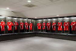 New home team dressing room in the Lansdown Stand at Ashton Gate - Rogan Thomson/JMP - 30/01/2017 - SPORT - Ashton Gate Stadium - Bristol, England - New West Stand Facilities.