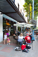 The exterior of Andaluz Restaurant in downtown Salem, Oregon
