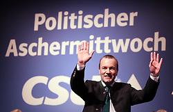06.03.2019, Dreiländerhalle, Passau, GER, Politischer Aschermittwoch der CSU, im Bild Manfred Weber // during the Political Ash Wednesday of the CSU Party at the Dreiländerhalle in Passau, Germany on 2019/03/06. EXPA Pictures © 2019, PhotoCredit: EXPA/ SM<br /> <br /> *****ATTENTION - OUT of GER*****