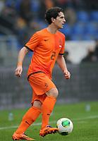 Fotball<br /> Nederland v Japan<br /> 16.11.2013<br /> Foto: Witters/Digitalsport<br /> NORWAY ONLY<br /> <br /> Daryl Janmaat (Niederlande)<br /> <br /> Fussball, Testspiel, Japan - Niederlande