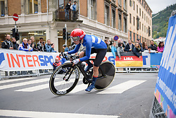 Lotta Lepisto at UCI Road World Championships Elite Women's Individual Time Trial 2017 a 21.1 km time trial in Bergen, Norway on September 19, 2017. (Photo by Sean Robinson/Velofocus)