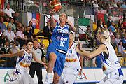 DESCRIZIONE : Ortona Italy Italia Eurobasket Women 2007 Serbia Italia Serbia Italy <br /> GIOCATORE : Laura Macchi<br /> SQUADRA : Nazionale Italia Donne Femminile EVENTO : Eurobasket Women 2007 Campionati Europei Donne 2007 <br /> GARA : Serbia Italia Serbia Italy <br /> DATA : 01/10/2007 <br /> CATEGORIA : Tiro<br /> SPORT : Pallacanestro <br /> AUTORE : Agenzia Ciamillo-Castoria/S.Silvestri Galleria : Eurobasket Women 2007 <br /> Fotonotizia : Ortona Italy Italia Eurobasket Women 2007 Serbia Italia Serbia Italy <br /> Predefinita :