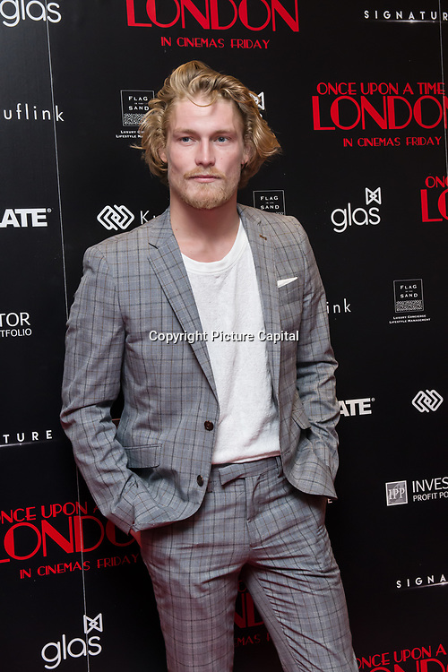 Harry Goodwins Arrivers at Once Upon a Time in London - London premiere of the rise and fall of a nationwide criminal empire that paved the way for notorious London gangsters the Kray Twins and the Richardsons at The Troxy 490 Commercial Road, on 15 April 2019, London, UK.