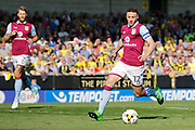 Aston Villa defender James Chester (12) during the EFL Sky Bet Championship match between Burton Albion and Aston Villa at the Pirelli Stadium, Burton upon Trent, England on 8 April 2017. Photo by Richard Holmes.