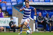 Reading forward Marc McNulty (12) during the EFL Cup match between Reading and Luton Town at the Madejski Stadium, Reading, England on 15 September 2020.
