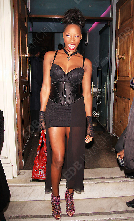 30.OCTOBER.2012. LONDON<br /> <br /> CELEBRITIES PARTY AT LOW CLUB IN LONDON FOR HALLOWEEN FANCY DRESS PARTY.<br /> <br /> BYLINE: EDBIMAGEARCHIVE.CO.UK<br /> <br /> *THIS IMAGE IS STRICTLY FOR UK NEWSPAPERS AND MAGAZINES ONLY*<br /> *FOR WORLD WIDE SALES AND WEB USE PLEASE CONTACT EDBIMAGEARCHIVE - 0208 954 5968*