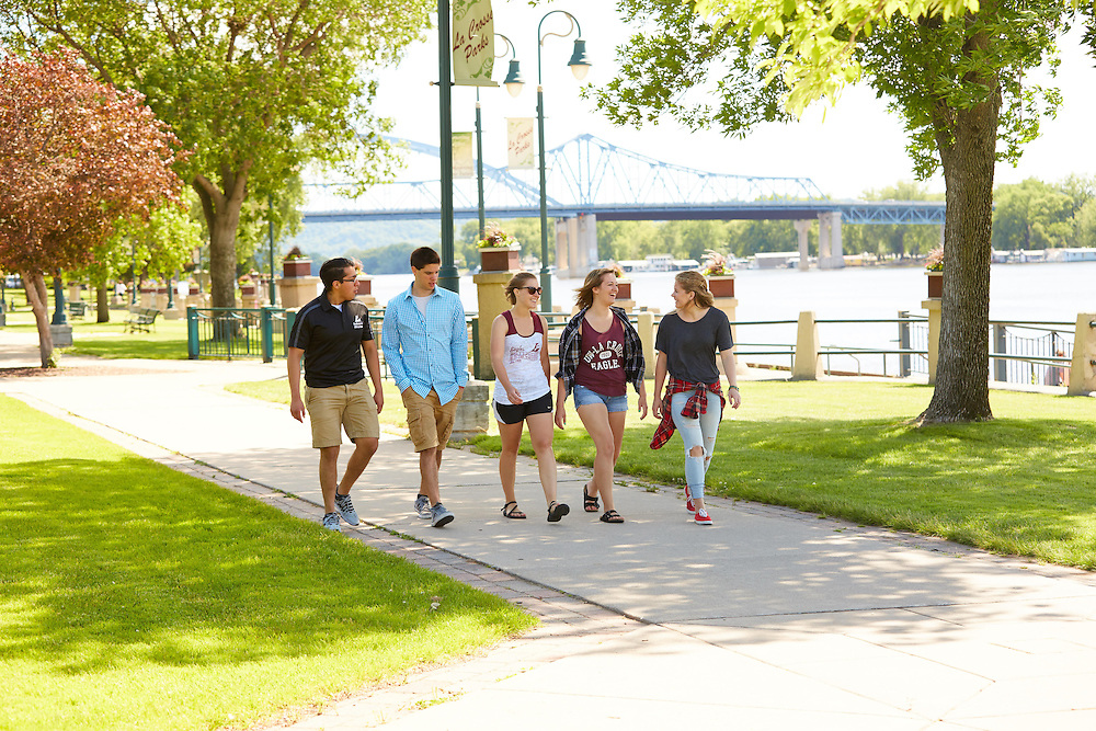 Activity; Socializing; Buildings; Downtown; Location; Outside; People; Woman Women; Man Men; Student Students; Summer; June; Time/Weather; day; Type of Photography; Candid; Lifestyle; UWL UW-L UW-La Crosse University of Wisconsin-La Crosse; Riverside Park; Diversity