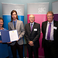 Images from the 2014 GTSC Probabtion Event Pictured are Jackie Brock (Chief Executive of Children First),Shane McGuigan (Highland),,Ken Muir (Chief Executive GTCS) and Derek Thompson (Convener GTCS). Thursday 12th June 2014.