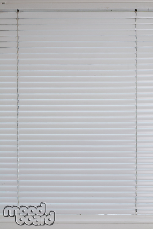 Window blinds - close - up
