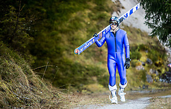 19.12.2014, Nordische Arena, Ramsau, AUT, FIS Nordische Kombination Weltcup, Skisprung, Training, im Bild Magnus Moan (NOR) // during Ski Jumping of FIS Nordic Combined World Cup, at the Nordic Arena in Ramsau, Austria on 2014/12/19. EXPA Pictures © 2014, EXPA/ JFK