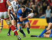 France scrum half Sebastien Tillous-Borde during the Rugby World Cup 2015 Pool D match (22) between France and Canada at Stadium MK, Milton Keynes, England on 1 October 2015. Photo by David Charbit.