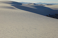Sand dunes in desert USA