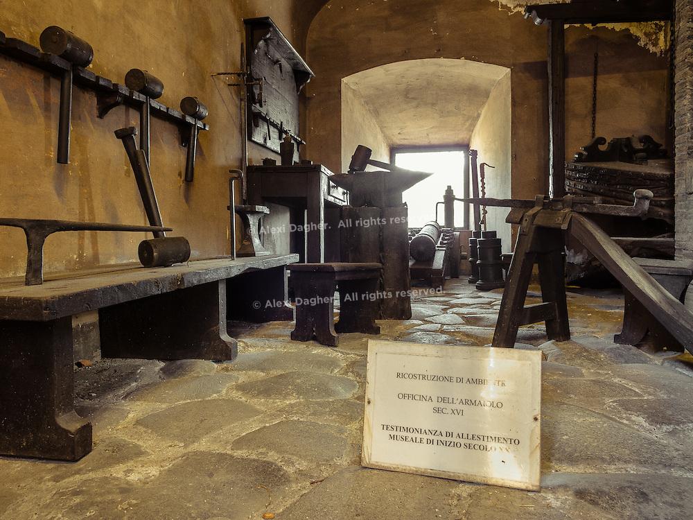 Blacksmith shop - Castel Sant'Angelo, Rome, Italy 2014