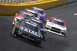 May 26, 2018 - Concord, North Carolina, United States of America - Dylan Lupton (28) brings his car through the turns during the Alsco 300 at Charlotte Motor Speedway in Concord, North Carolina. (Credit Image: © Chris Owens Asp Inc/ASP via ZUMA Wire)