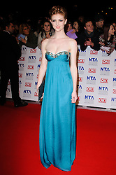 Lucy Dixon at the National Television Awards held in London on Wednesday, 25th January 2012. Photo by: i-Images
