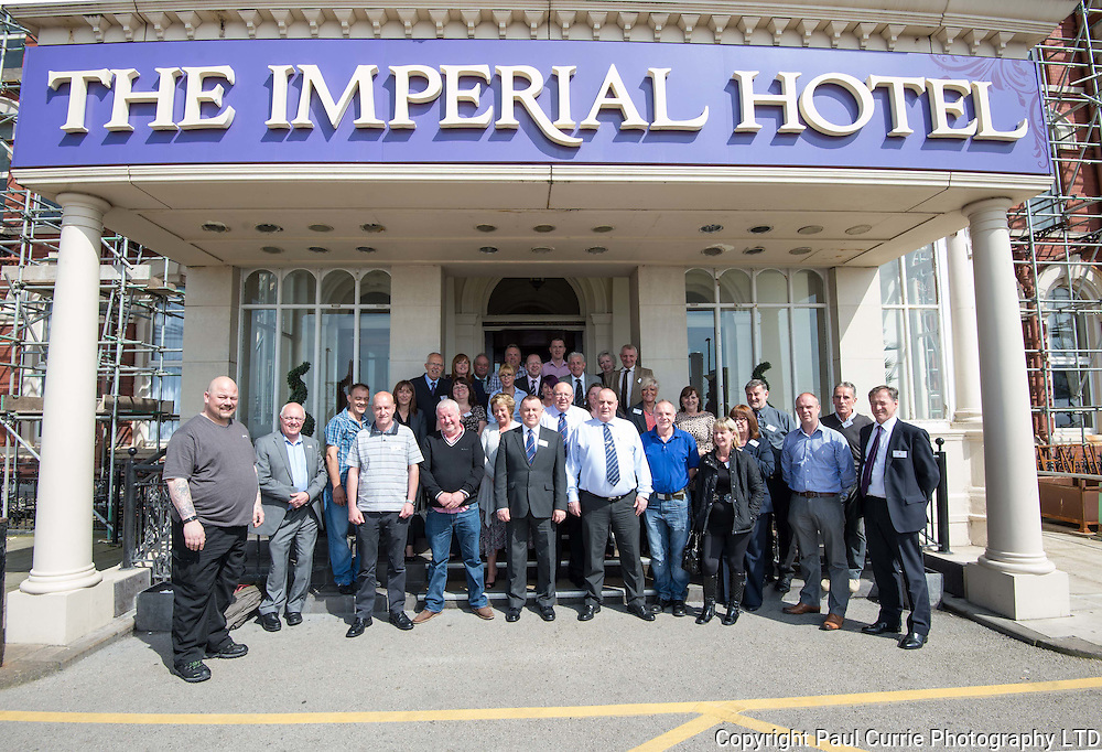 Pictures shows members of the Unity Union at their annual conference held at the Imperial Hotel in Blackpool<br />