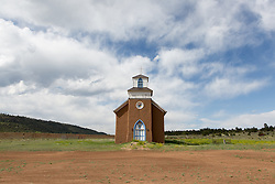 Mission Church of San Rafael in New Mexico