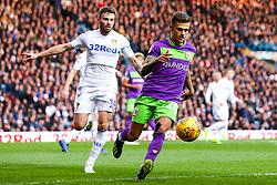 Jamie Paterson of Bristol City takes on Stuart Dallas of Leeds United - Mandatory by-line: Robbie Stephenson/JMP - 24/11/2018 - FOOTBALL - Elland Road - Leeds, England - Leeds United v Bristol City - Sky Bet Championship