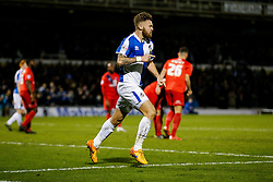 Matt Taylor of Bristol Rovers celebrates scoring a goal in added time to make it 2-1 and win the game - Mandatory byline: Rogan Thomson/JMP - 07966 386802 - 12/12/2015 - FOOTBALL - Memorial Stadium - Bristol, England - Bristol Rovers v York City - Sky Bet League 2.