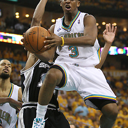 03 May 2008:  in the first half of the NBA Playoff Semi-Finals between the San Antonio Spurs and the New Orleans Hornets at the New Orleans Arena in New Orleans, LA..
