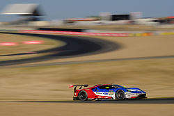 June 18, 2017 - Le Mans, Sarthe, France - FORD CHIP GANASSI TEAM USA MICHELIN FORD GT.SCOTT DIXON (NZL) in action during the race of the 24 hours of Le Mans on the Le Mans Circuit - France (Credit Image: © Pierre Stevenin via ZUMA Wire)
