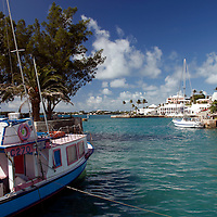 Bermuda, St. George's. Harbour of St. George's, Bermuda.