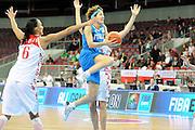 DESCRIZIONE : Riga Latvia Lettonia Eurobasket Women 2009 Qualifying Round Russia Italia Russia Italy<br /> GIOCATORE : Simona Ballardini<br /> SQUADRA : Italia Italy<br /> EVENTO : Eurobasket Women 2009 Campionati Europei Donne 2009 <br /> GARA : Russia Italia Russia Italy<br /> DATA : 14/06/2009 <br /> CATEGORIA : super tiro<br /> SPORT : Pallacanestro <br /> AUTORE : Agenzia Ciamillo-Castoria/M.Marchi<br /> Galleria : Eurobasket Women 2009 <br /> Fotonotizia : Riga Latvia Lettonia Eurobasket Women 2009 Qualifying Round Russia Italia Russia Italy<br /> Predefinita :