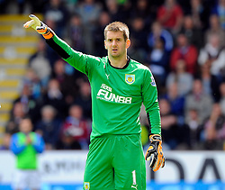 Burnley's Thomas Heaton - Photo mandatory by-line: Joe Meredith/JMP - Mobile: 07966 386802 30/08/2014 - SPORT - FOOTBALL - Burnley - Turf Moor - Burnley v Manchester United - Barclays Premier League