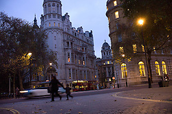 UK ENGLAND LONDON 15NOV11 - Junction of Northumberland Avenue and Whitehall Place in central London by the River Thames.....jre/Photo by Jiri Rezac....© Jiri Rezac 2011
