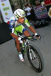 Koren Kristjan (SLO) of Liquigas at prologue (6,6km) of Tour de Slovenie 2011, on June 16 2011, in Ljubljana, Slovenia. (Photo by Urban Urbanc / Sportida)