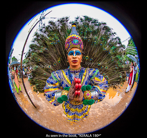 A Mayilattam Dancer