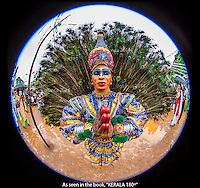 A Mayilattam Dancer