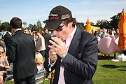 Johnny Lynn, The Veuve Clicquot Gold Cup 2007. Cowdray Park, Midhurst. 22 July 2007.  -DO NOT ARCHIVE-© Copyright Photograph by Dafydd Jones. 248 Clapham Rd. London SW9 0PZ. Tel 0207 820 0771. www.dafjones.com.